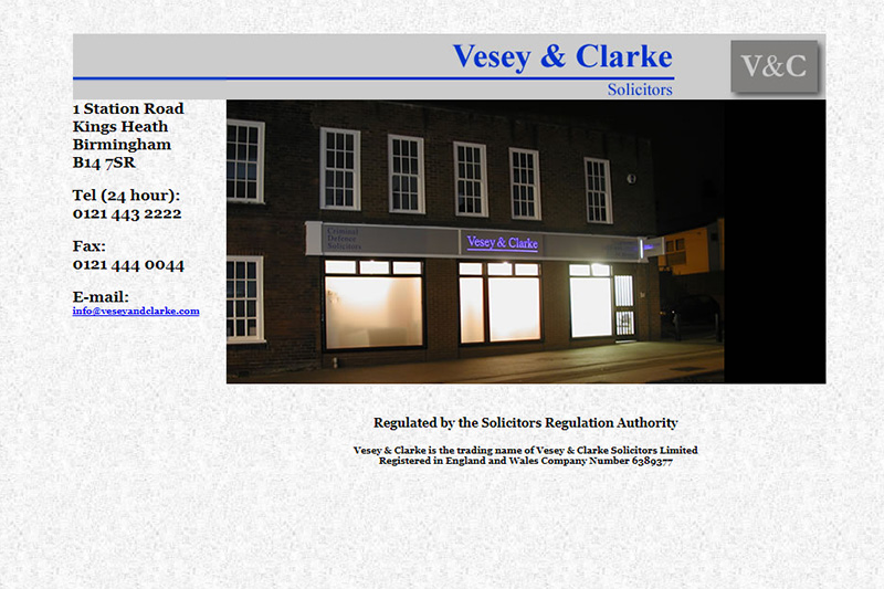 Vesey And Clarke Solicitors Birmingham