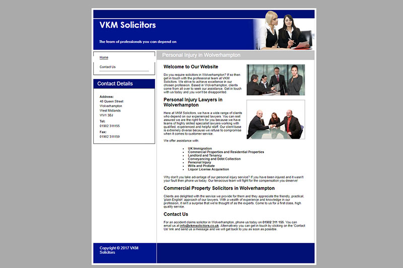 VKM Solicitors West Midlands