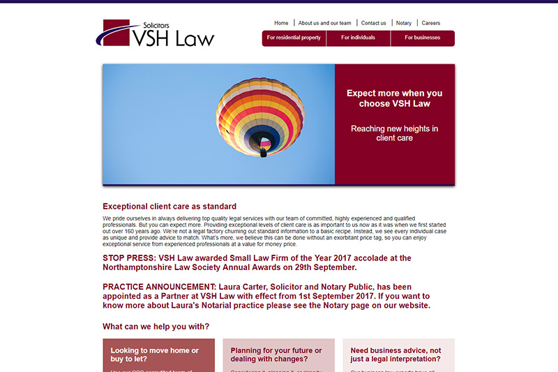 VSH Law Solicitors in Northamptonshire