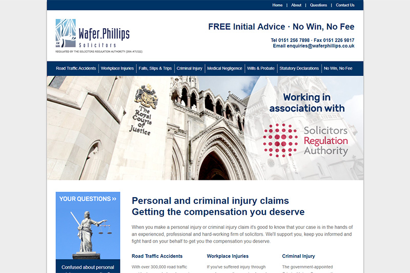 Wafer Phillips Solicitors in Liverpool
