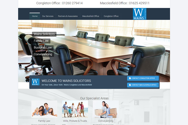 Wains Solicitors Cheshire
