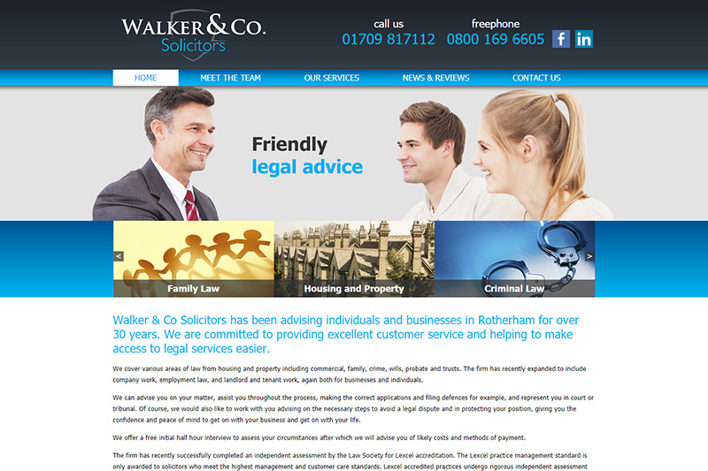 Walker & Co Solicitors South Yorkshire