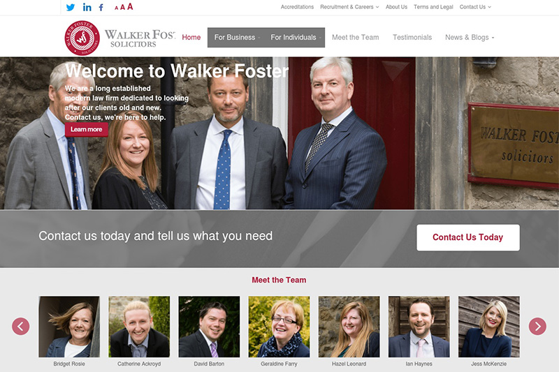 Walker Foster Skipton Solicitors North Yorkshire
