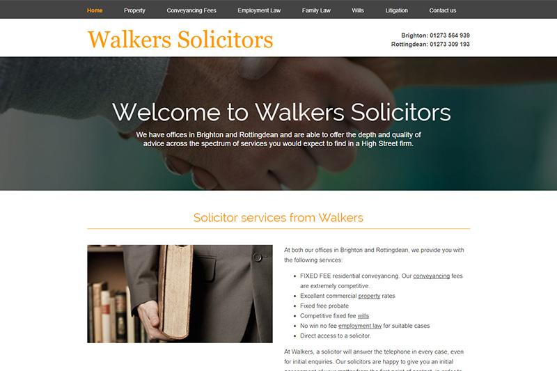 Walkers Solicitors East Sussex