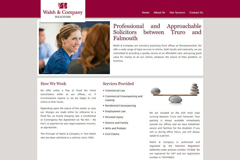 Walsh & Company Solicitors in Cornwall