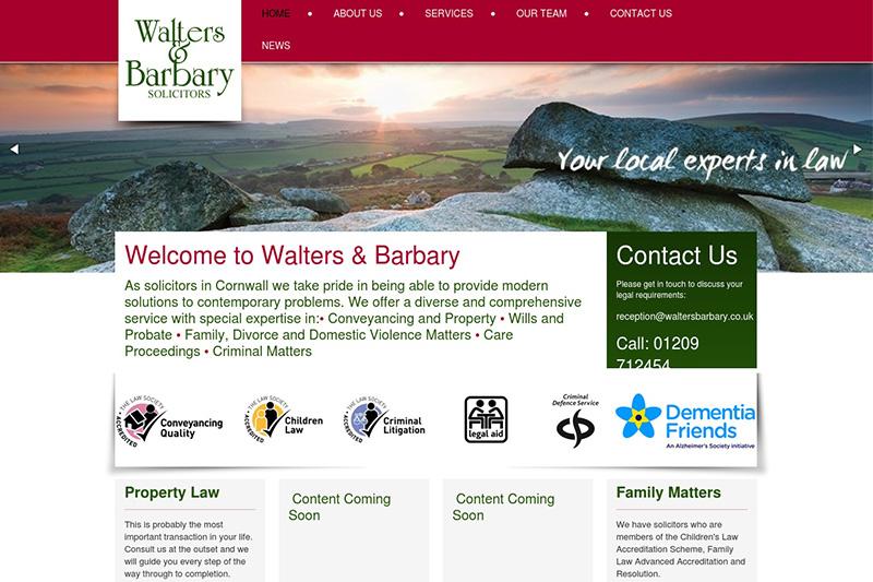 Walters & Barbary Solicitors Cornwall