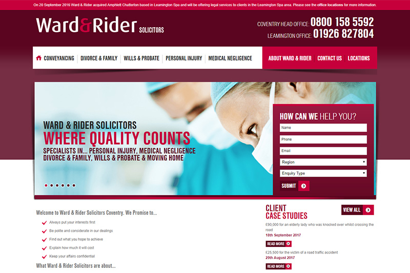 Ward & Rider Solicitors Coventry