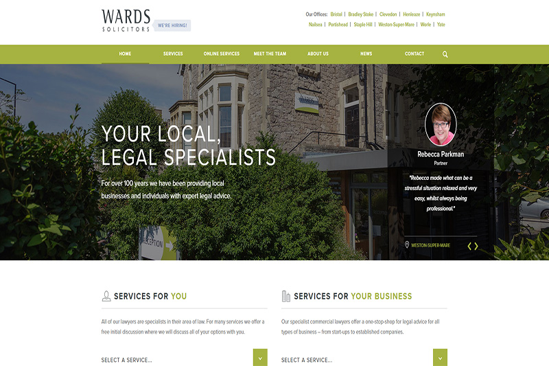 Wards Solicitors in Bristol