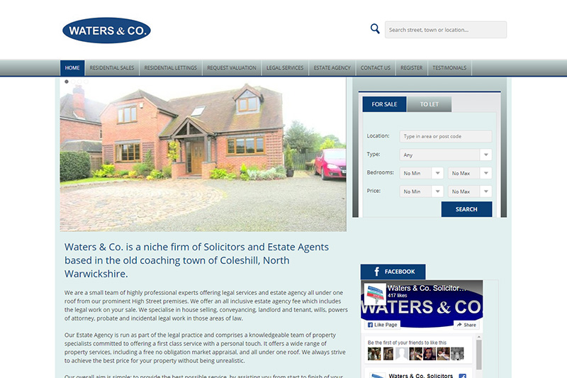 Waters & Co Solicitors West Midlands