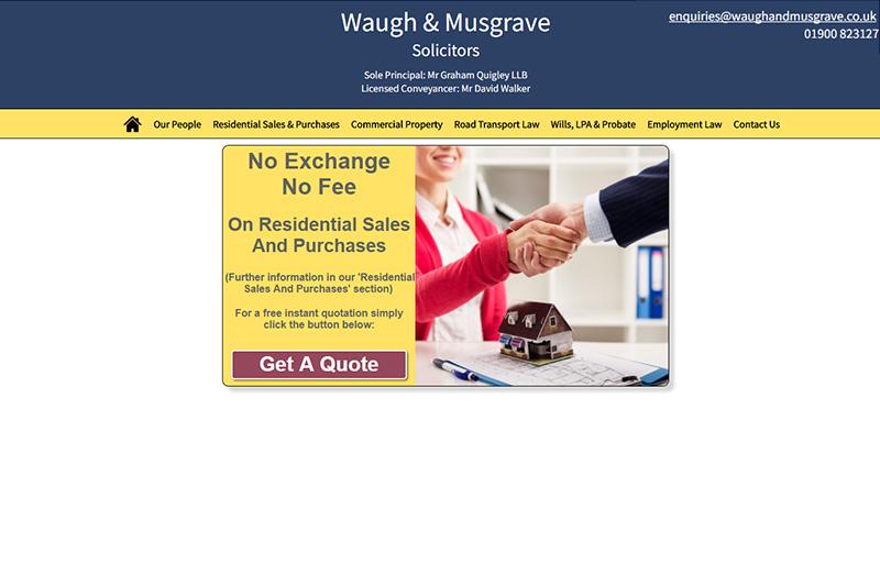 Waugh & Musgrave Solicitors in Cumbria