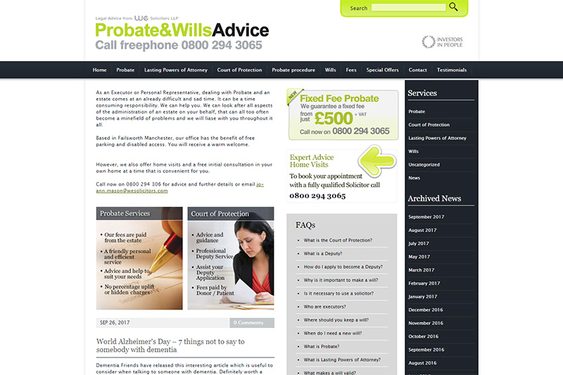 We Solicitors in Manchester