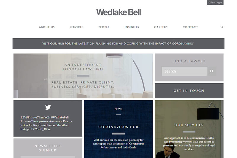 Wedlake Bell Solicitors London