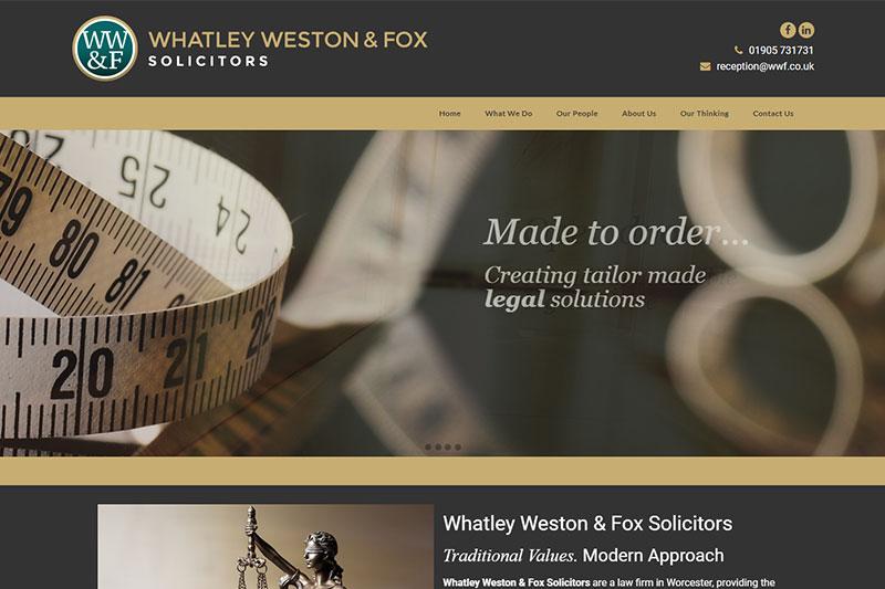 Whatley Weston & Fox Solicitors