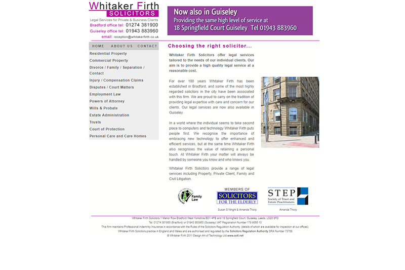 Whitaker Firth Solicitors