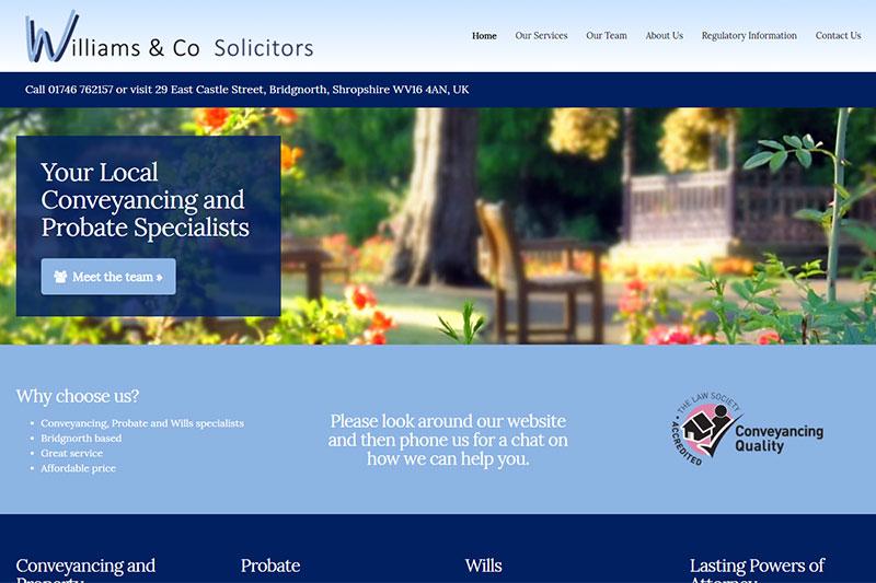 Williams & Co Solicitors Bridgnorth