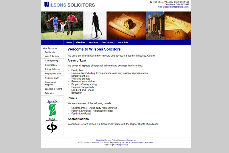 Wilsons' Solicitors Oxford Oxfordshire