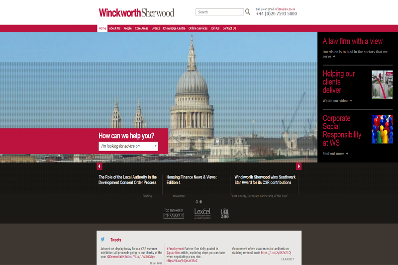 Winckworth Sherwood London