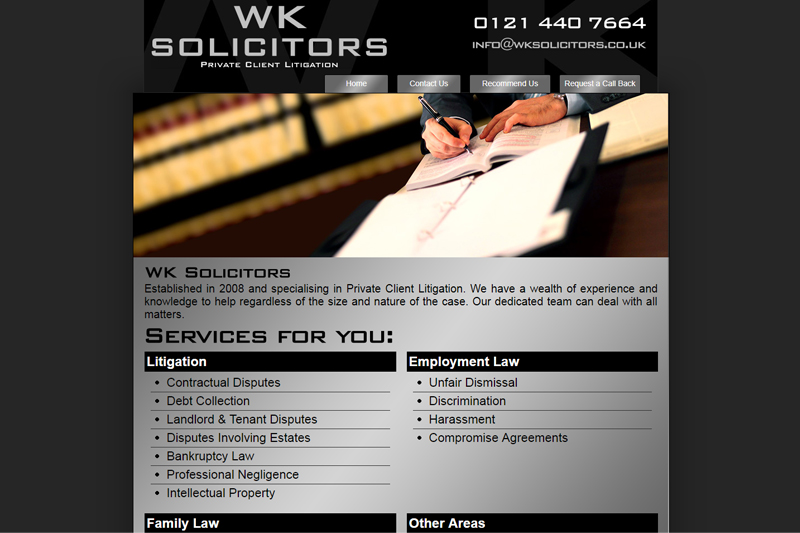 WK Solicitors Birmingham West Midlands