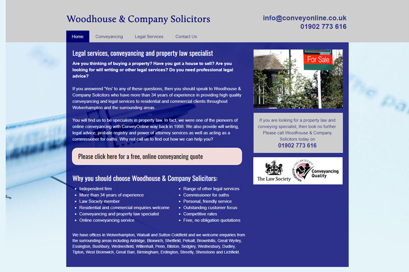 Woodhouse & Company Wolverhampton West Midlands