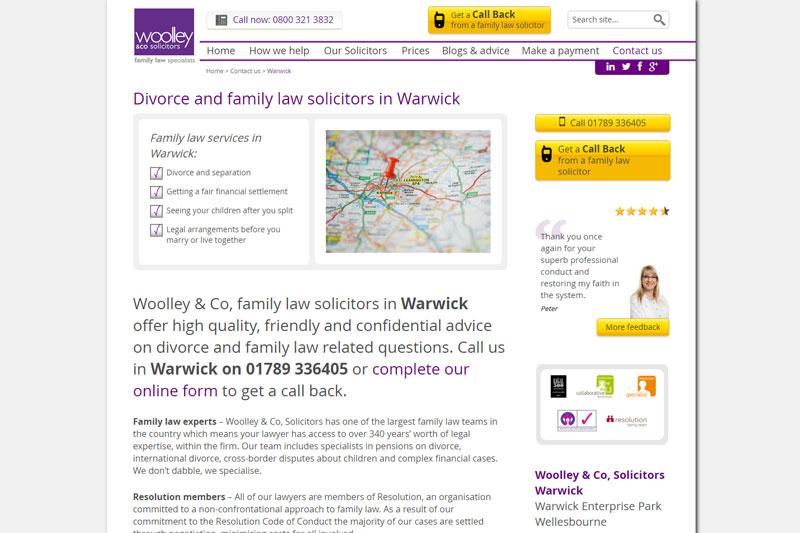 Woolley & Co Warwick Warwickshire