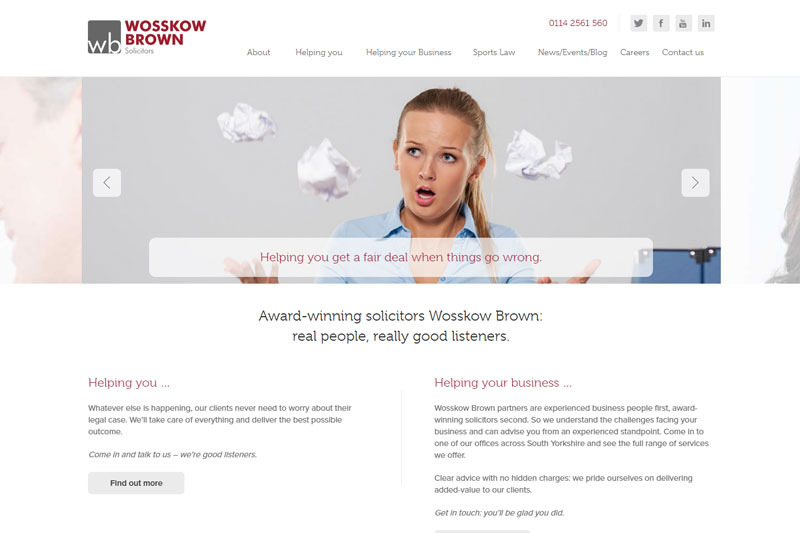 Wosskow Brown Solicitors in Sheffield South Yorkshire