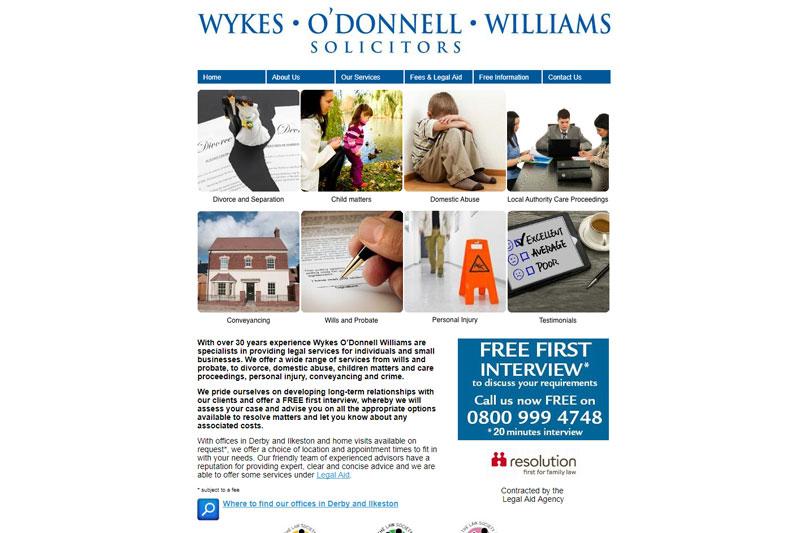 Wykes O'donnell Williams Ilkeston Derbyshire