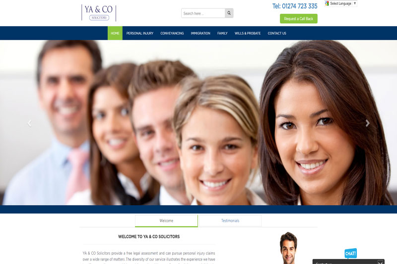YA & Co Solicitors in Bradford West Yorkshire