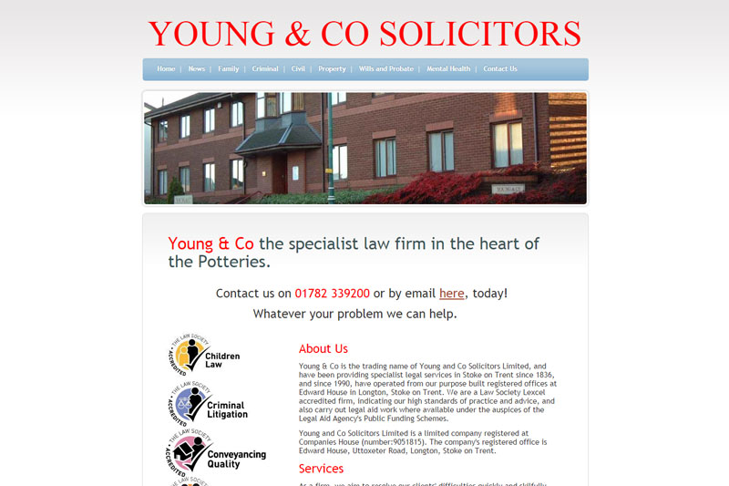 Young & Co Stoke On Trent Staffordshire