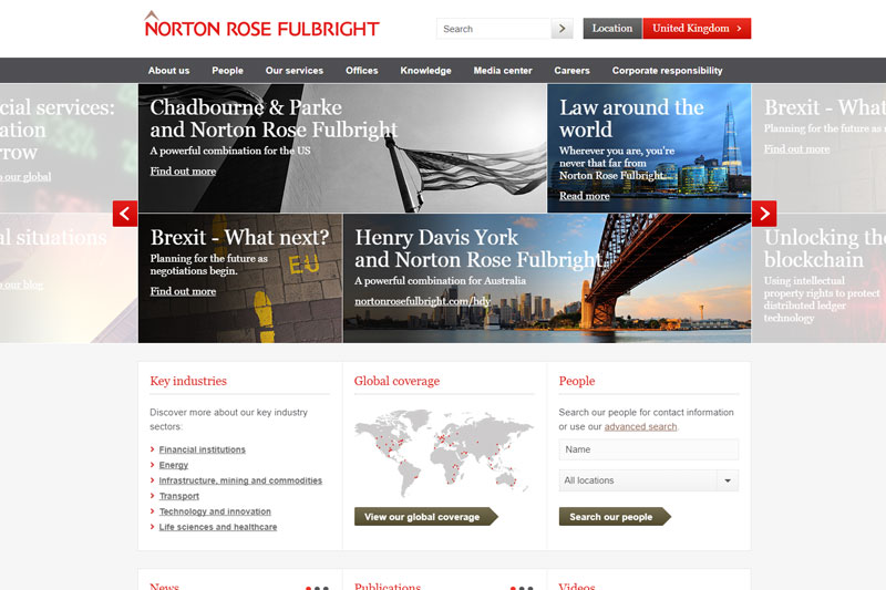 Norton Rose Fulbright Solicitors London
