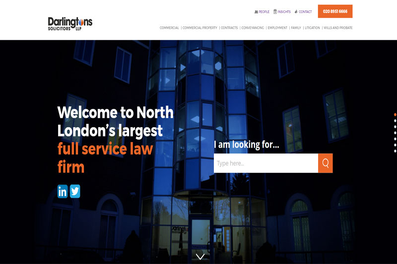 Darlingtons Solicitors Edgware Middlesex