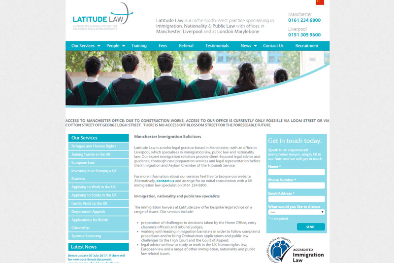 Latitude Law Solicitors Manchester