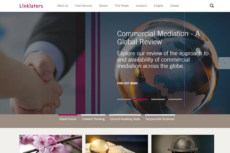 Linklaters LLP global law firm in the UK