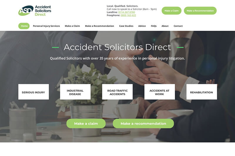 Accident Solicitors Direct South Yorkshire