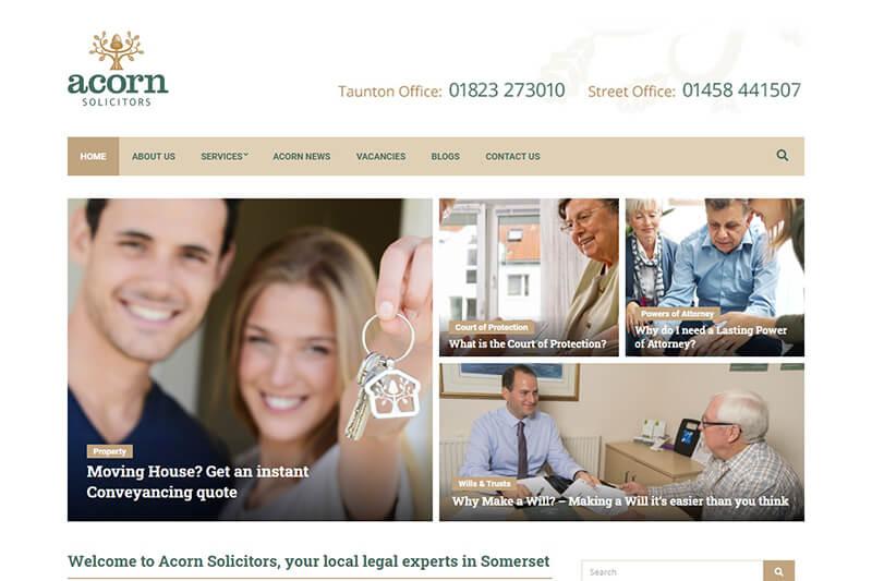 Acorn Solicitors in Somerset