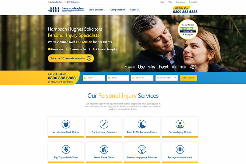 Hampson Hughes specialist injury lawyers in Liverpool