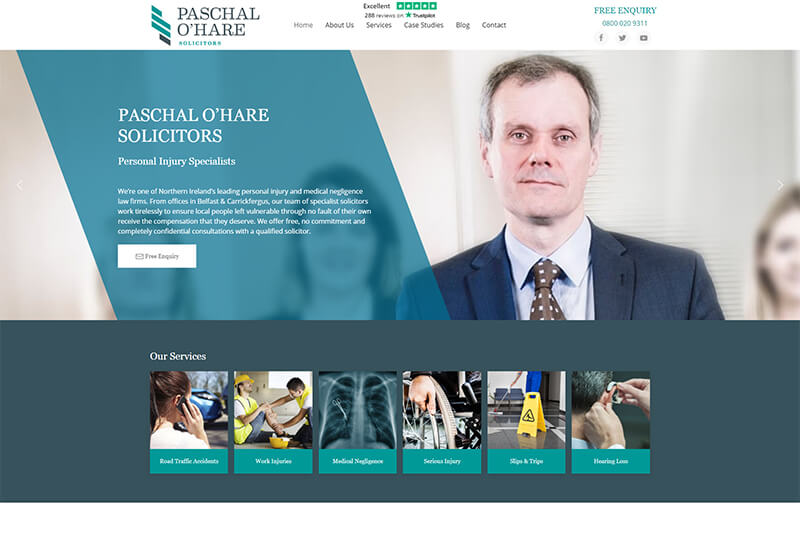 Paschal O-Hare injury lawyers in Northern Ireland